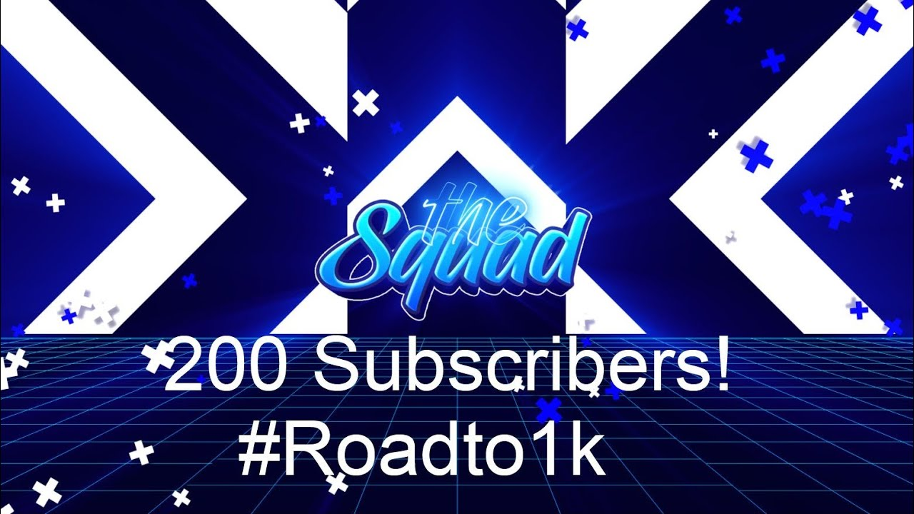 Thank You For 200 Subscribers!
