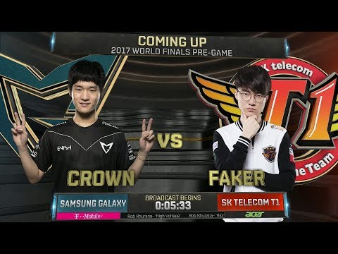 SKT vs SSG - Worlds 2017 Finals