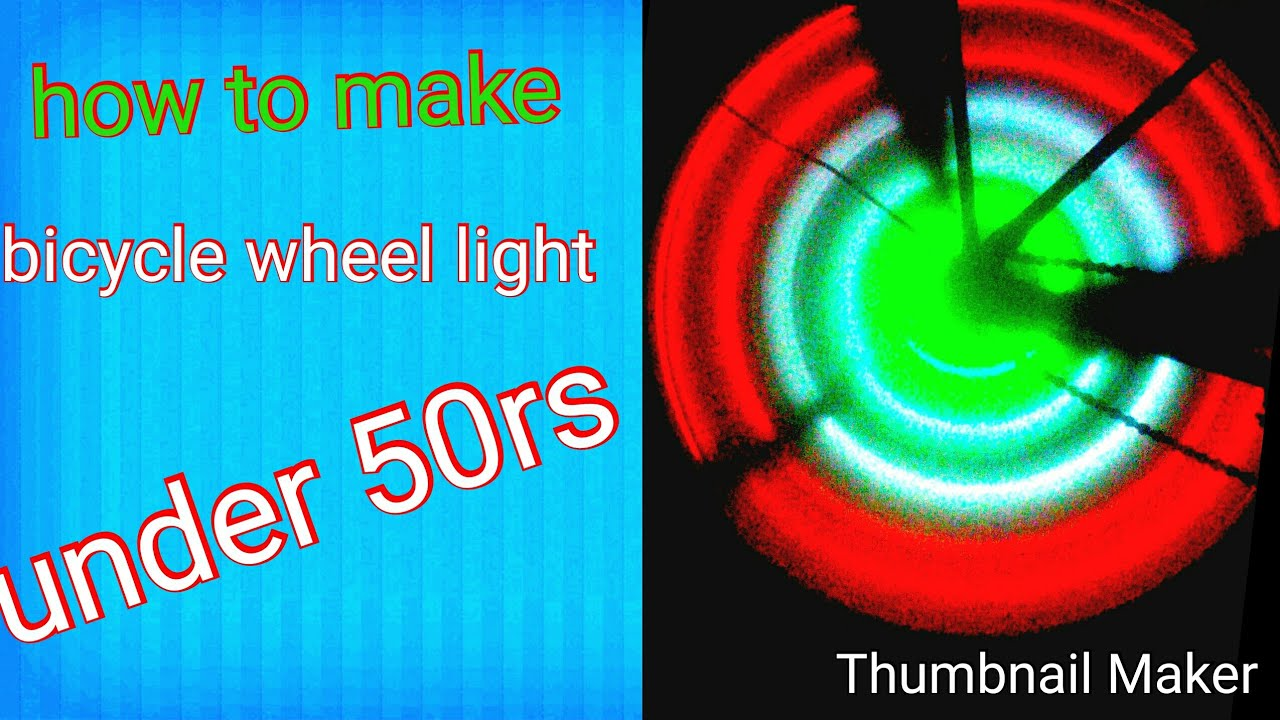 How to make bicycle wheel light: Indian flag colour wheel light:mk tech