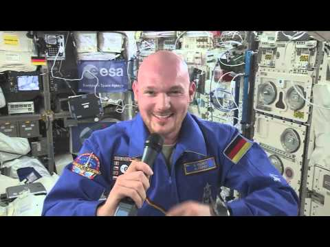 German Astronaut On International Space Station Discusses Life In Orbit With German Media