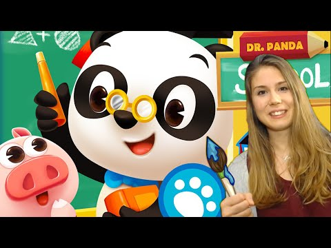 DR. PANDA ESCUELA | ANDROID & iOS (iPhone & iPad) | GAMEPLAY