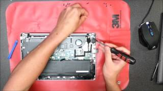 How to open ASUS S200E VivoBook S200E X201E F201E X202E Q200E cleaning fan and disassembly