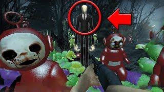I found Slenderman & his Slendytubby ARMY in this MULTIPLAYER HORROR GAME!
