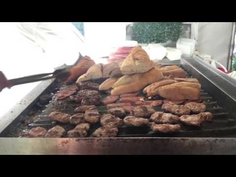 Istanbul Street Food | Turkish Bacon - Sujuk And Kofta With Bread | Turkey Street Food