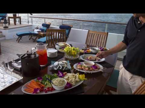 Caribbean yacht charters with crew - video describes a typical day on charter