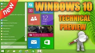 windows 10 Technical Preview - review completo