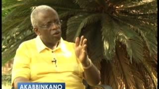 AKABBINKANO: Amama Mbabazi Katikkiro wa Uganda.