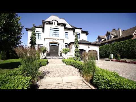 Majestic stone mansion for sale in Nouveau St Laurent Quebec Canada