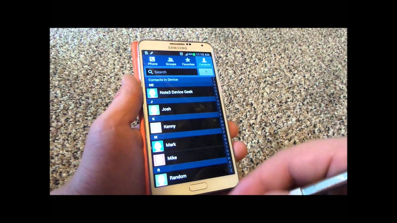 5d720438ede How To Import Export Contacts On Your Smart Phone - YouTube