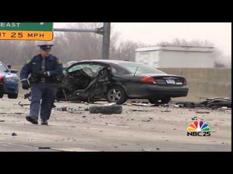 Crash shuts down northbound lanes of Interstate 75, U.S. 23 in Genesee County