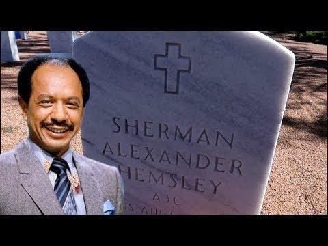#824 The Grave Of SHERMAN HEMSLEY, George Jefferson THE JEFFERSONS - Travel Vlog (11/8/18)