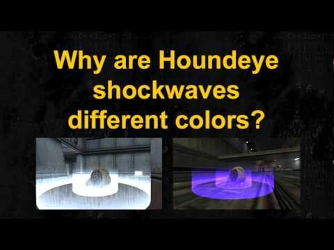 Half-Life - Houndeye Sonic Attack Behavior
