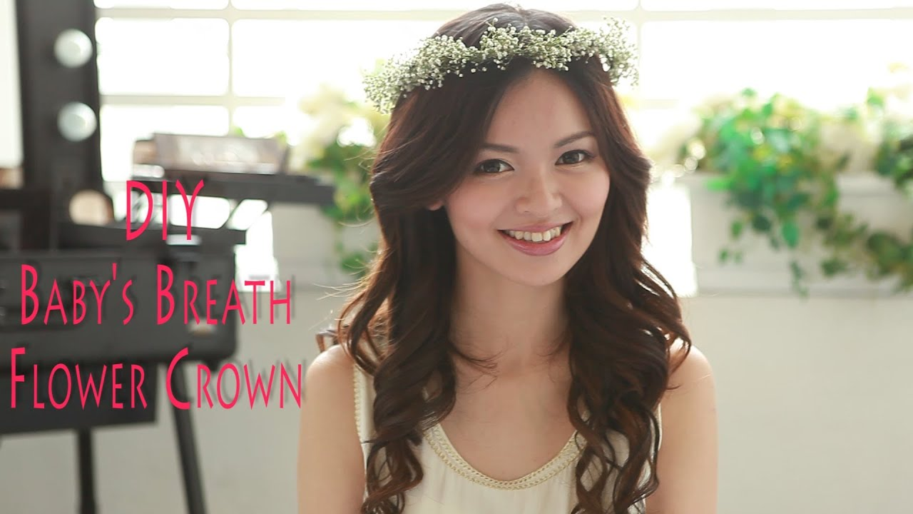 Diy Flower Crown Youtube
