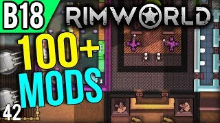 RimWorld Beta 18 gameplay with over 100 mods installed! This is a m...