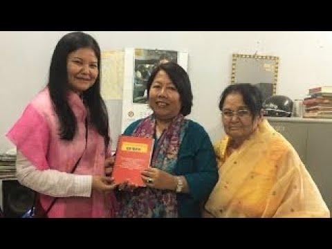 Interview of Monica Ingudam by Bijaya Yumlembam of AIR Imphal Manipur in 2014
