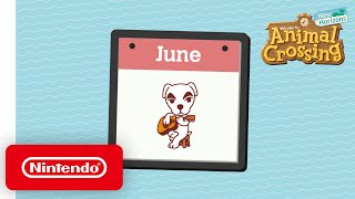 Animal Crossing: New Horizons - Celebrate These June Activities! - Nintendo Switch