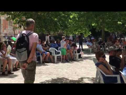 La Banda de Música de Soria en el Retiro de Madrid. Soria, qué linda eres