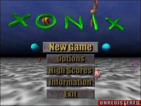 AirXonix Gameplay (PC Game, 2001)