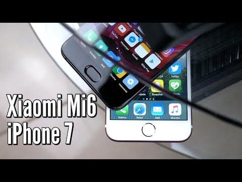 Xiaomi Mi6 🇨🇳 vs iPhone 7 🇺🇸 | PORÓWNANIE | PL