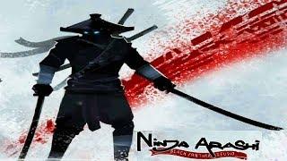НИНДЗЯ АРАШИ #1 игра мультфильм как ШАДОУ ФАЙТ Shadow Fight 2 бой с тенью NINJA ARASHI