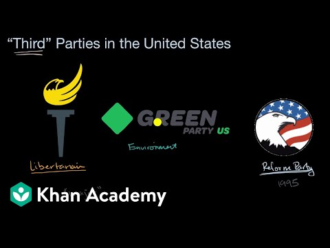 Third Parties In The United States | US Government And Civics | Khan Academy