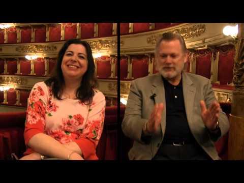 Intervista doppia a / Interview with  Daniela Barcellona & Gregory Kunde (Teatro alla Scala)