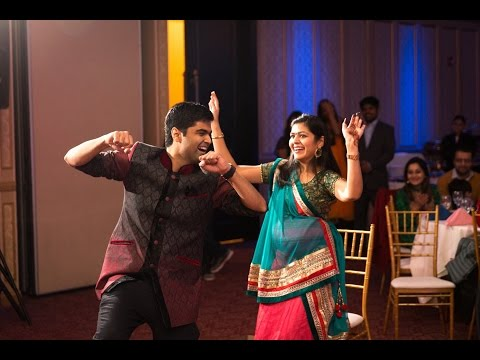 Indian Baby Shower Surprise Dance