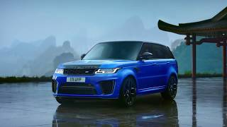 Range Rover Sport SVR 2018 - Most Powerful Land Rover Ever - ROGEE
