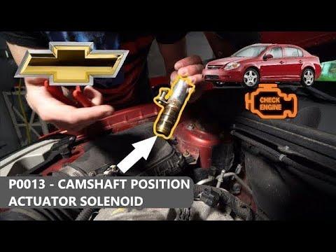 Check Engine Code P0013 - Chevy Cobalt Ecotech 2.2L Z22SE LC61