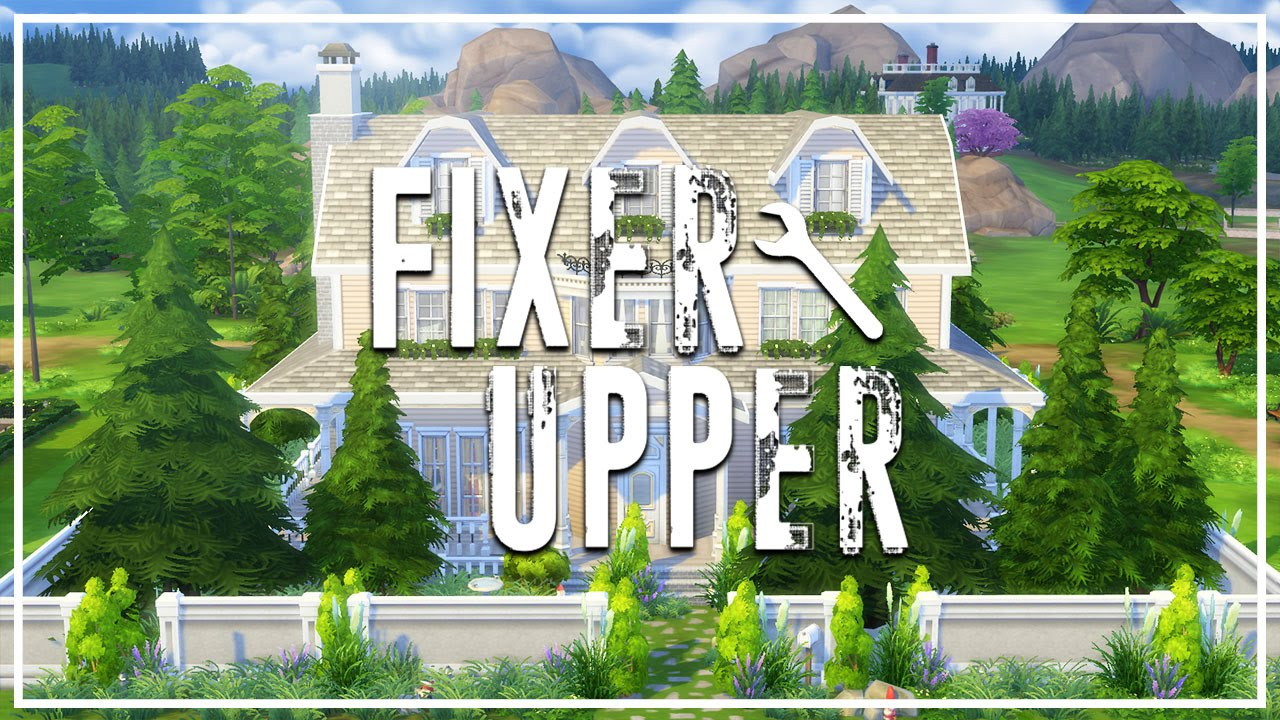10,000 SUBSCRIBERS?! // The Sims 4: Fixer Upper Building (Closed)