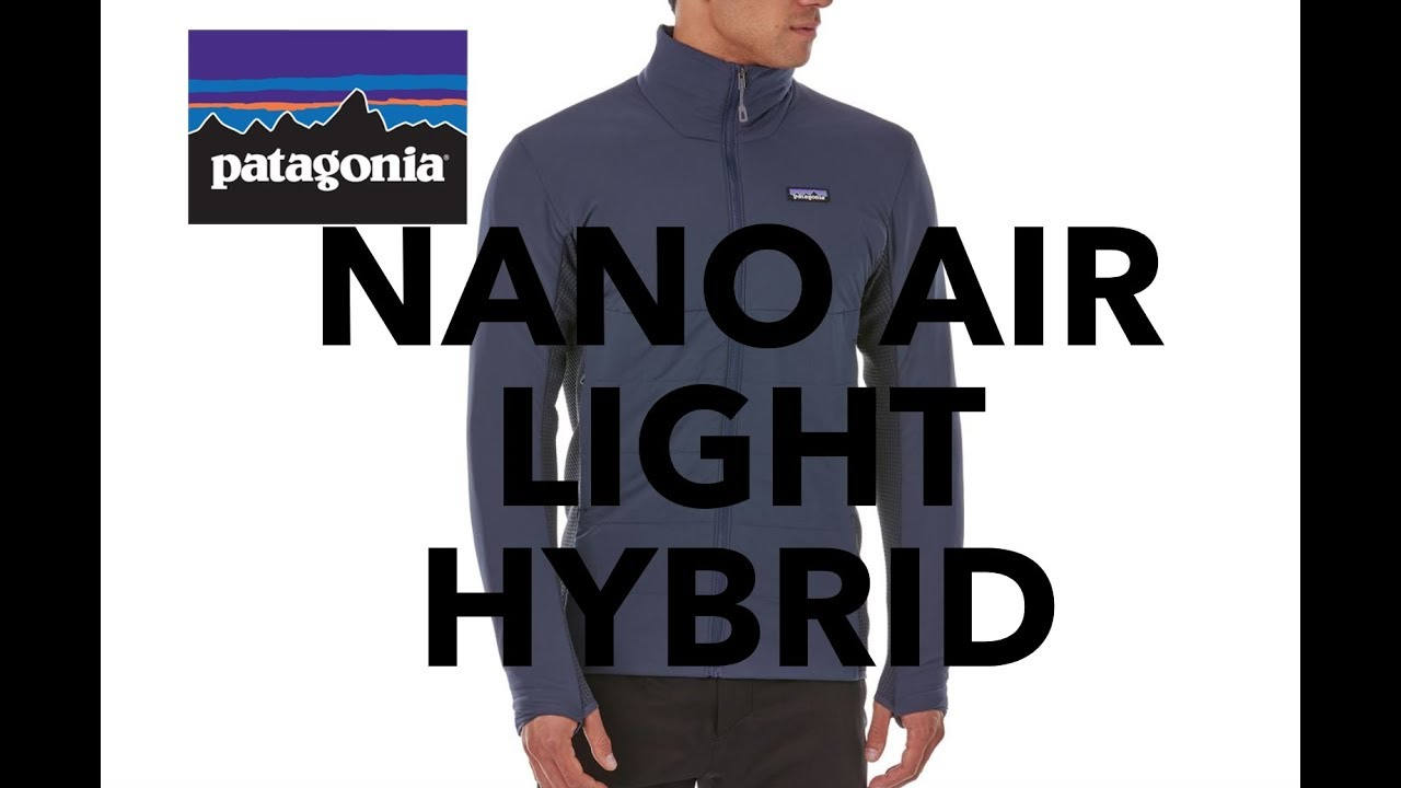 18d3d74445 Patagonia Nano Air Light Hybrid Jacket REVIEW Vest Puff REI Best Lightweight  Packable Hiking Camping