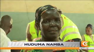Kisumu residents on Huduma number