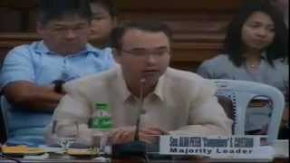 2 Pulido Tan, Line Dela Pena, Building Phases, Philippine senate probe 12/13