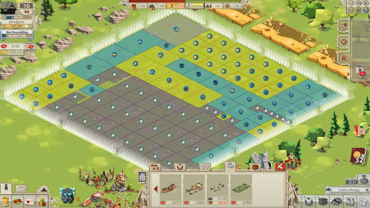 Castle set up goodgame empire tutorials youtube The best layout