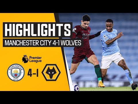 Defeat at the Etihad | Manchester City 4-1 Wolves | Highlights