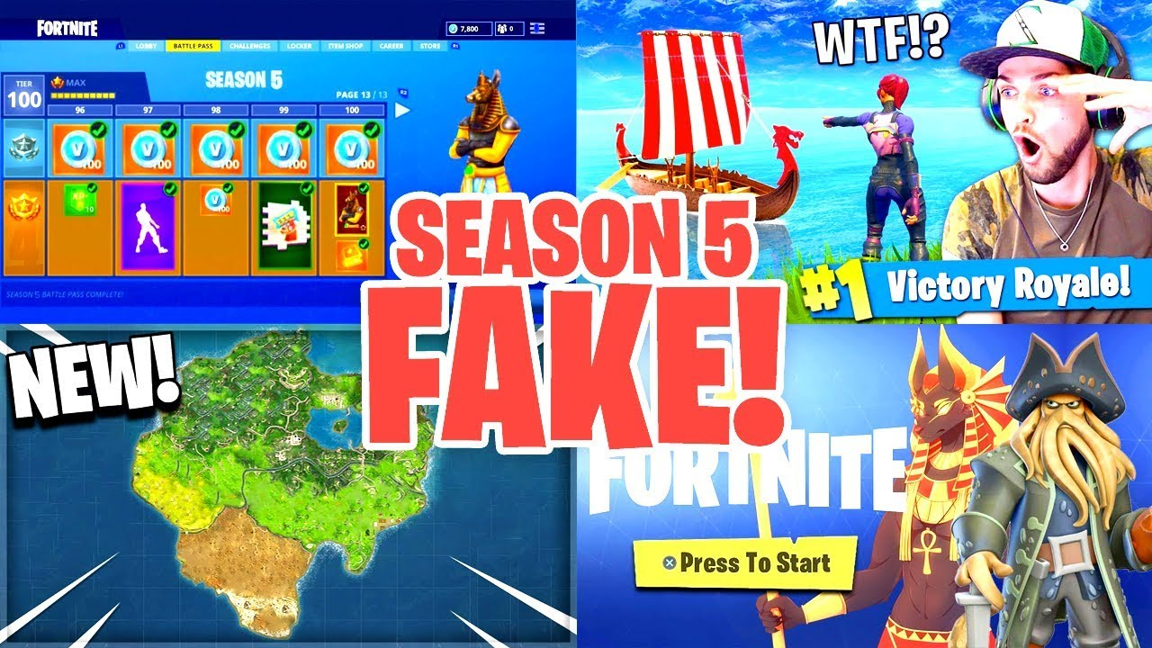 Why all season 5 leaks are fake venturion ventura - Ventura fortnite ...