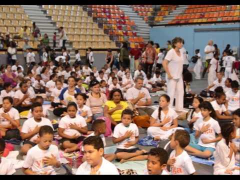 International Day of Yoga, Saint Denis, Reunion Island