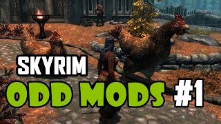 Skyrim Odd Mods #1 - POWERFUL FORKS (Season Premiere)