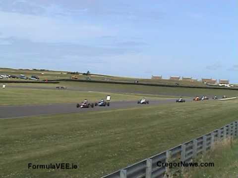 Irish Formula Vee Race, Anglesey Wales, 5 July 2009