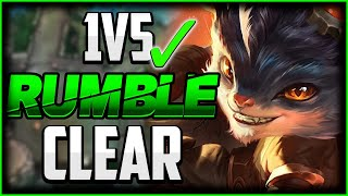 This Jungle Route is Why RUMBLE IS S TIER 👌 | Best Build/Runes | Rumble Jungle Guide Season 11