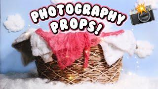 DIY EASY PHOTOGRAPHY PROPS! Newborn Edition | DIYholic