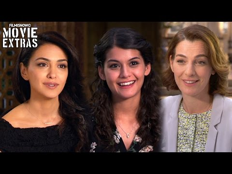 BenHur  Onset with Nazanin Boniadi, Sofia Black D'Elia & Ayelet Zurer