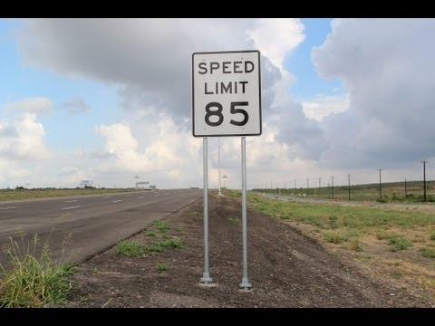 SH130 Toll  85mph