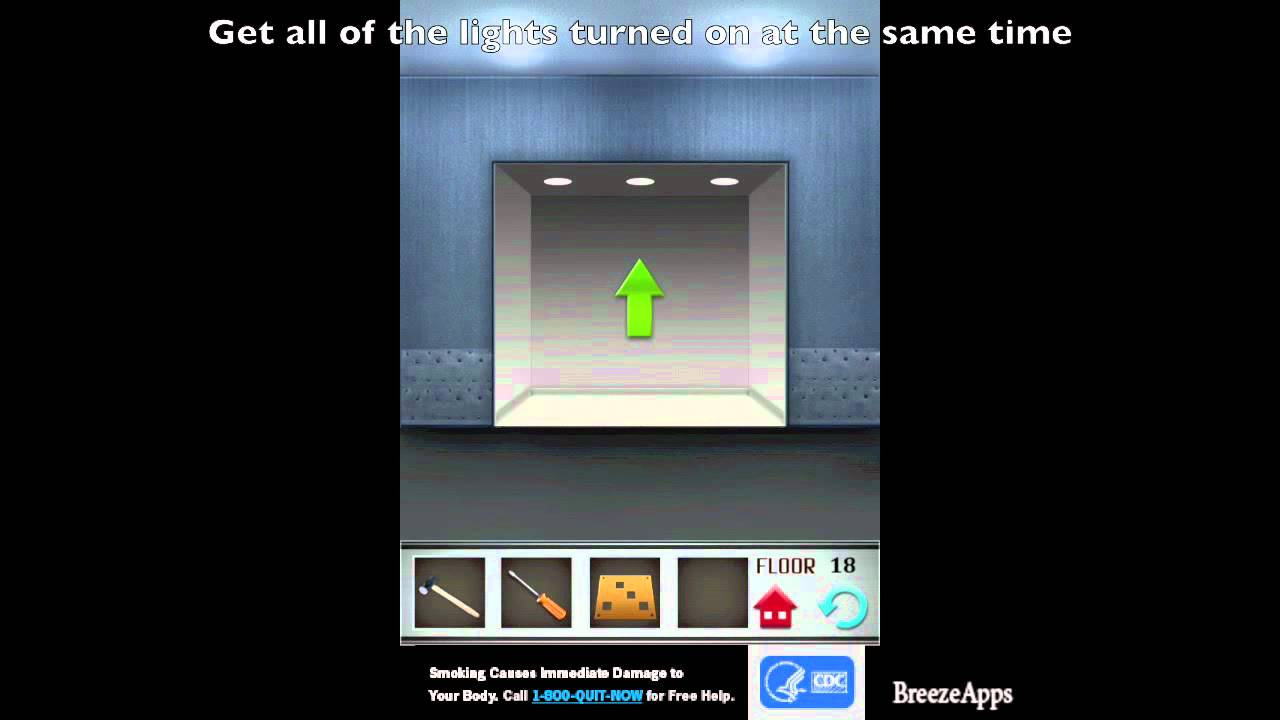 100 Floors Level 18 Walkthrough 100 Floors Solution Floor