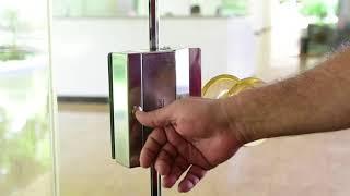 Fechadura eletroímã Advance Drigon e leitor biométrico MA300