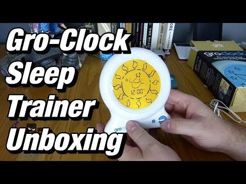 Gro-Clock Sleep Trainer Unboxing