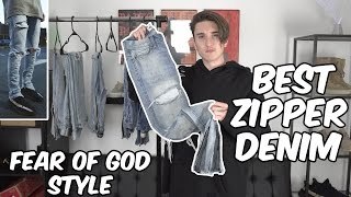 TOP 5 ZIPPER DENIM! (MNML, MINT CREW, HYPERDENIM & MORE!)