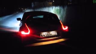 Ночной обзор Nissan Juke (4k, UHD)