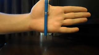 психокинез с ручкой. Магнетизм  Телекинез (magnetism)