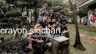 Download Mp3 Crayon Shinchan Opening  Eclat Ft Indomusikgram